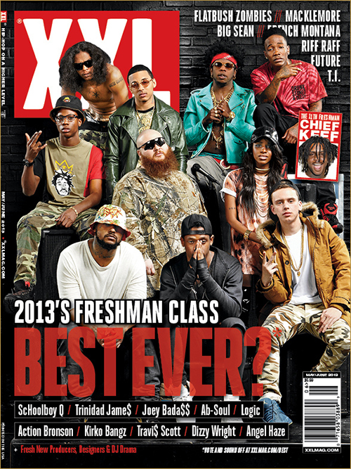 And the 2013 XXL Fresh...