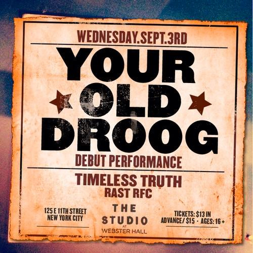your-old-droog-debut