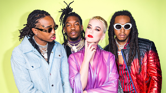 Image result for katy perry snl migos